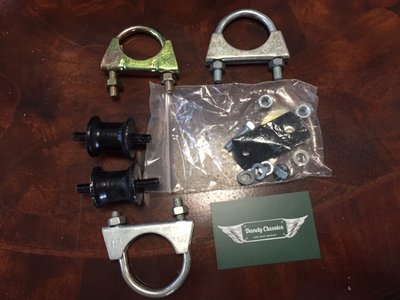Montage kit uitlaat ophanging Triumph Spitfire