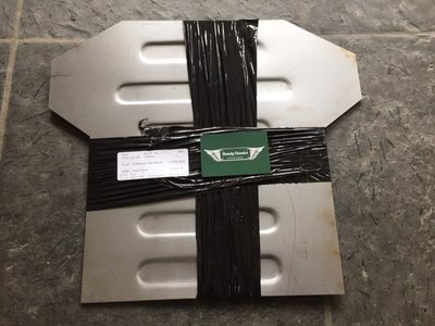 Borstplaat chassis Triumph TR4A TR5 TR6